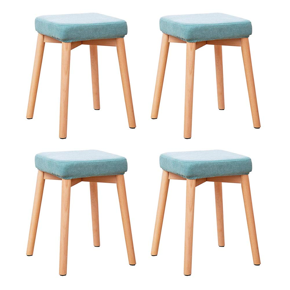 Astounding Amazon Com Rpmdm 4 Pieces Of Stool Can Be Stacked Solid Ibusinesslaw Wood Chair Design Ideas Ibusinesslaworg