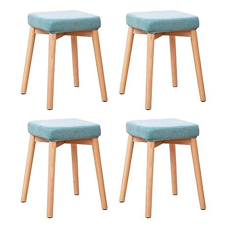 Enjoyable Amazon Com Rpmdm 4 Pieces Of Stool Can Be Stacked Solid Creativecarmelina Interior Chair Design Creativecarmelinacom