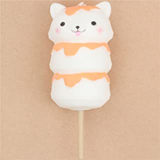 Squishy gatto bianco dango cibo dal Giappone Kawaii