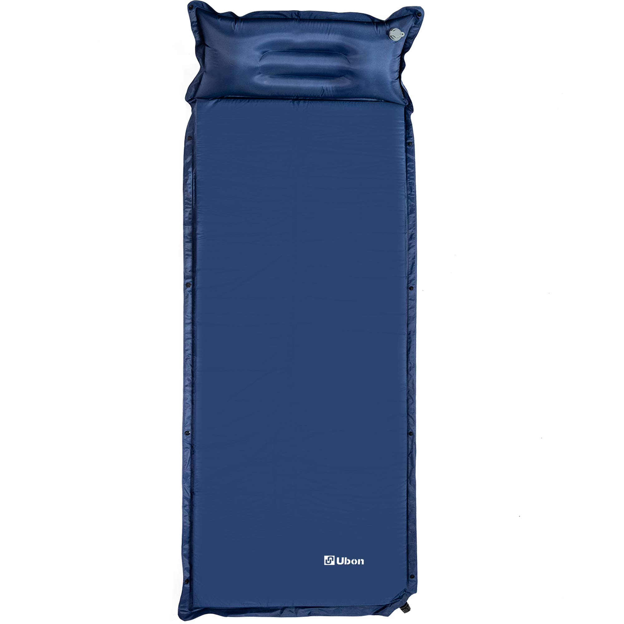 Ubon Self-Inflating Sleeping Pad Attach Pillows Comfortable Mattress for Camping Hiking Backpacking Beach for 1 Person by Ubon