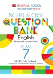 Oswaal NCERT & CBSE Question Banks Class 7 English