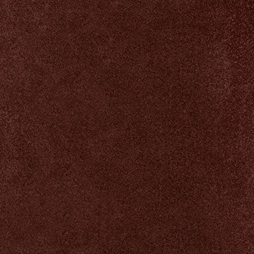 Bright House Solid Color Area Rug  3 Square  Chocolate
