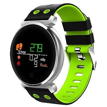 XUWLM Pulsera Smartwatch Fitness Watch Presión Arterial Monitor de ...