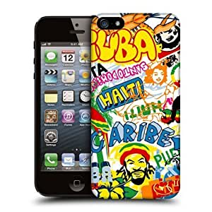 Case Fun Caribbean Snap-on Hard Back Case Cover for Apple iPhone 5 / 5S by icecream design