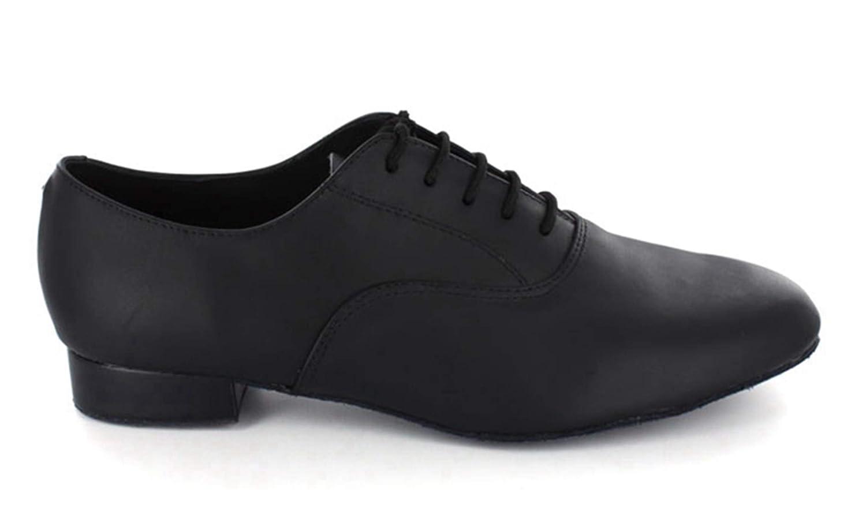 Minitoo de hombre jf250501/C/ómodo piel baile Latina zapatos de baile negro 41