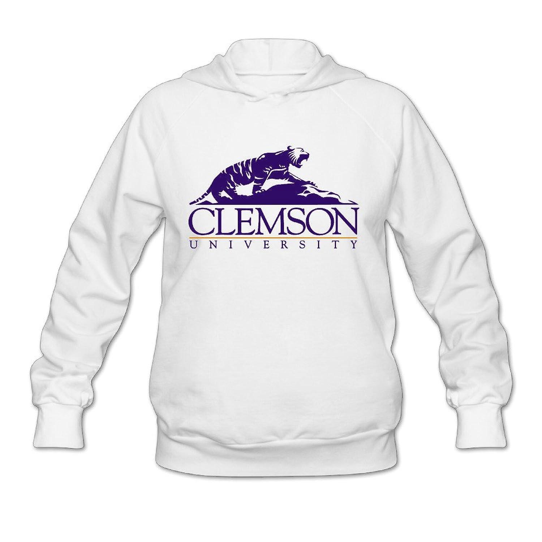 Xiaohuang86 Clemson University Girl's Hoodies Shirt Cotton Cheap
