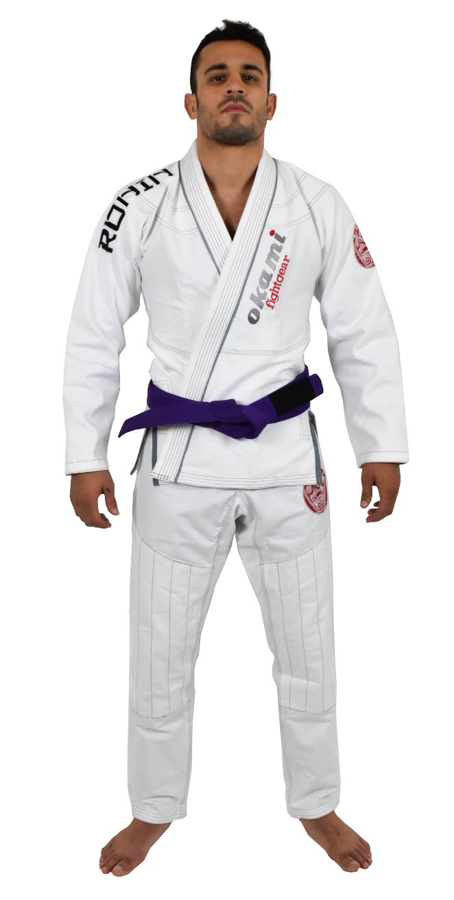 OKAMI Fightgear Herren Ronin Weiß Limited Edition Gi