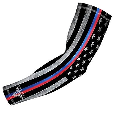 21ea64d7f0 新しい Amazon.com : Bucwild Sports USA Mexico Puerto Rico Flag Compression Arm  Sleeve -