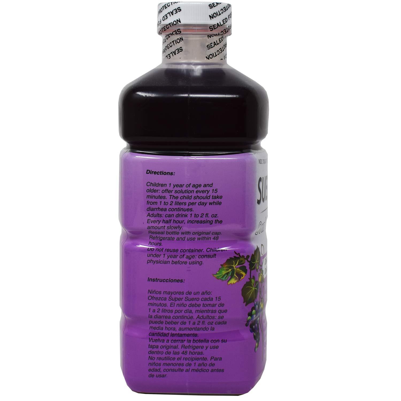 Amazon.com: Suerolyte Grape 33.8 Oz, Suero Oral Electrolyte Solution: Health & Personal Care
