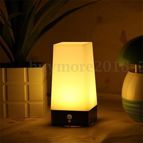 Superior Wireless PIR Motion Sensor Indoor LED Night Light Bedroom Room Table Desk  Lamp Amazing Design