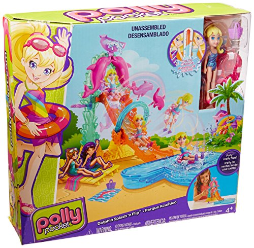 POLLY POCKET - DOLPHIN SPLASH 'N FLIP (CFP25)