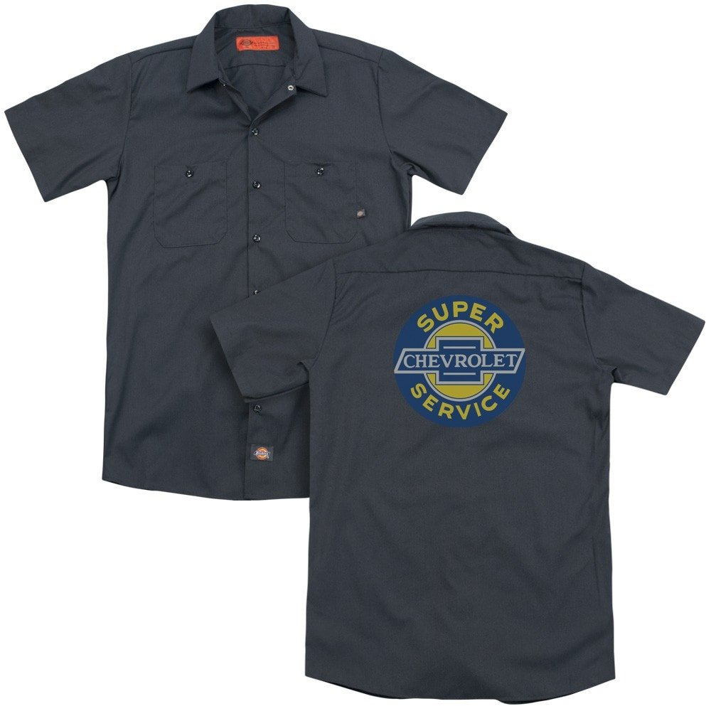 Super Service Adult Work Shirt Chevy