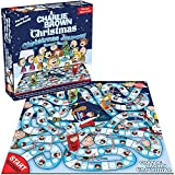 NMR DIST AMERICA Peanuts Charlie Brown Christmas Journey Board Game - 2-4 Players - Ages 8+