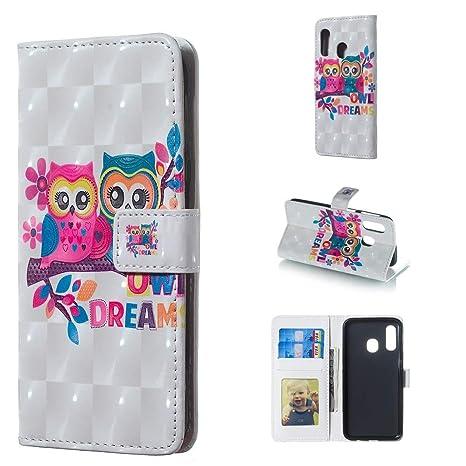 XIAOGUA Estuches y cubiertas Para Samsung Galaxy A40, Lovers ...