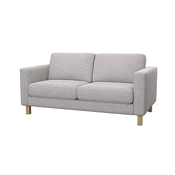Amazon.de: Soferia Bezug fur IKEA KARLSTAD 2er-Sofa, Stoff Naturel ...