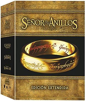 Trilogia El Señor De Los Anillos Ed. Extendida Bd Blu-ray: Amazon.es: Animacion, Jackson,Peter, Animacion: Cine y Series TV