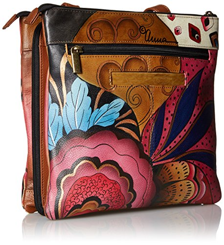 Potpourri tribal Potpourri Compartment Anuschka Tribal Multi Anuschka Anna Crossbody By Tlb Handpainted q1wvqxP78