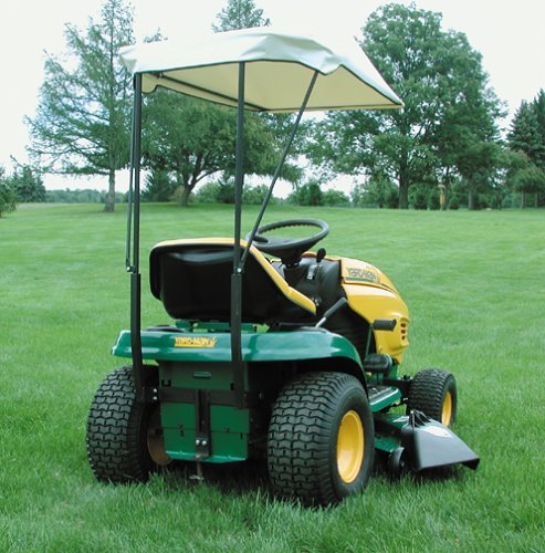 Amazon.com  MTD Genuine Parts Deluxe Tractor Sunshade  Garden u0026 Outdoor : john deere canopy for lawn tractor - memphite.com