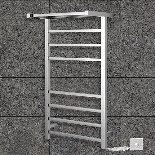 [해외]Lightinthebox 방사형 플러그 인 70W 타올 워머 스테인레스 스틸 미러 광택 된 건조 벽 마운트, 독립형 950mm 높이 수건 선반 화장실 홈 Dec/Lightinthebox Radiant Plug-In 70W Towel Warmer Stainless Steel Mirror Polished Drying Wall Mount, F...