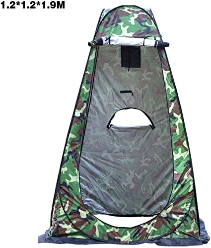 Pop Up Shower Toilet Changing Room Privacy Tent Portable Hiking Outdoor Camping