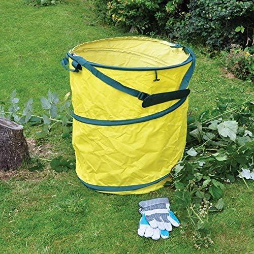 Cubo de basura para jardín con capacidad de 200 litros: Amazon.es: Jardín
