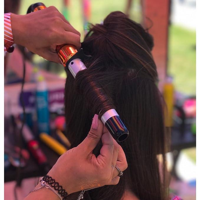 Helen of Troy BH313 rizador de cabello - Rizador de pelo Naranja, Plata: Amazon.es: Salud y cuidado personal