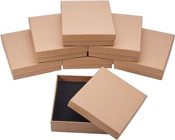 NBEADS Caja, 8 Unidades 11 X 13 Cm/4,3 X 5,1 Pulgadas Rectángulo ...