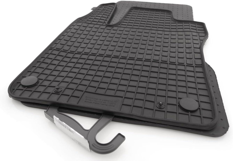 Kh Teile Gummimatten Original Qualität Gummi Fußmatten 2 Teilig Schwarz Auto