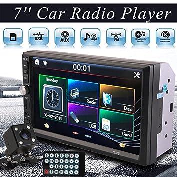 Sedeta 7 Pulgadas 2DIN Car MP5 Player Receptor Estéreo del Coche de la Radio HD de la Pantalla Táctil de Bluetooth sin Cámara Trasera: Amazon.es: Coche y ...