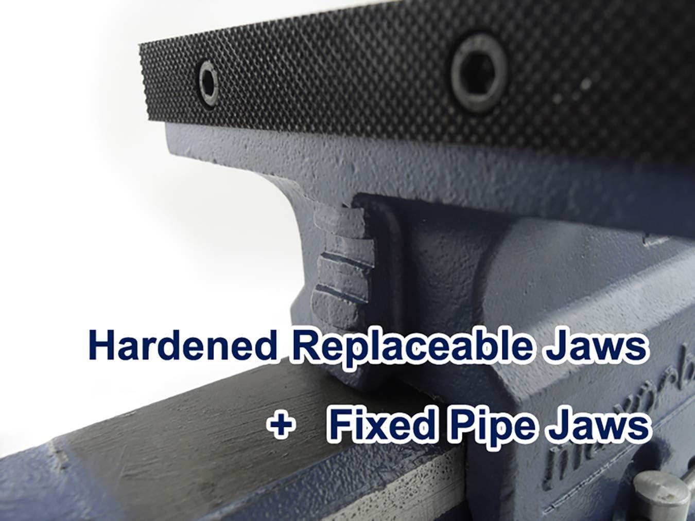 Max Orbit Quick Release Heavy Duty Engineers Bench Vise 2 Ton Semi Precision 6 inch