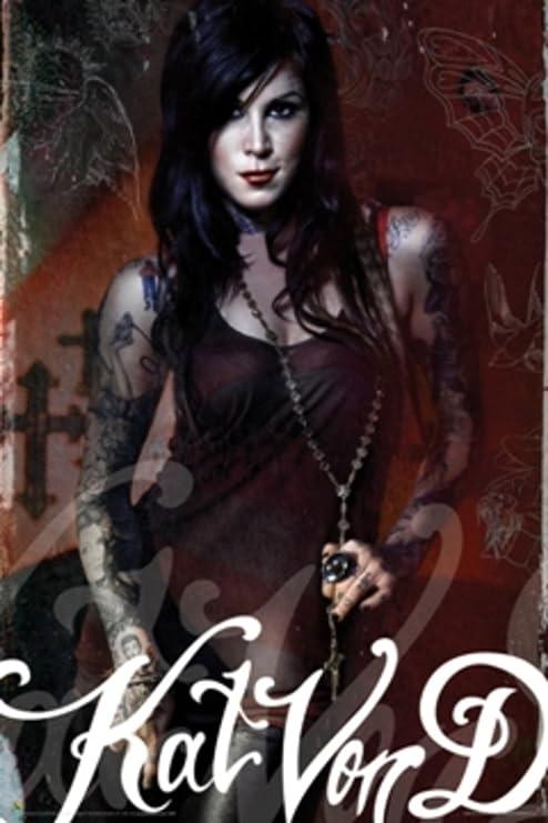 Kat Von D Looks to Kill artista del tatuaje 23 pin Up Póster con ...