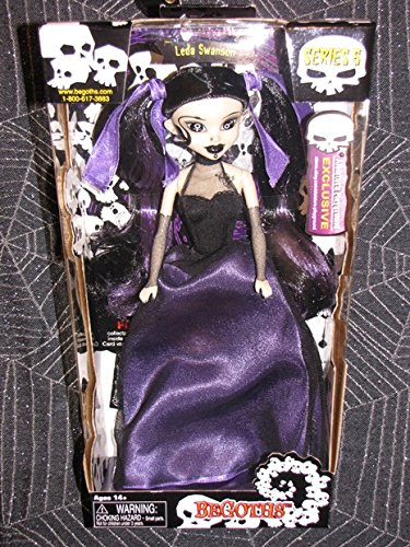 Bleeding Edge Series 5 Begoths 12 inch Leda Swanson Purple EXCLUSIVE Figurine