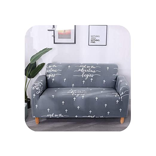 Amazon.com: Miracle day Grey Sofa Cover Spring Flower Sofa ...
