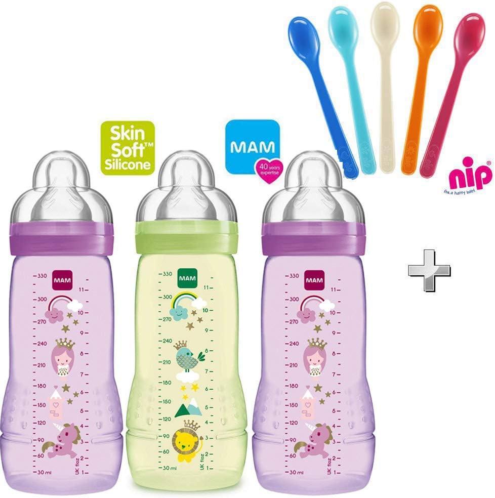 MAM Baby Bottle 330ml 2 Pack Unisex