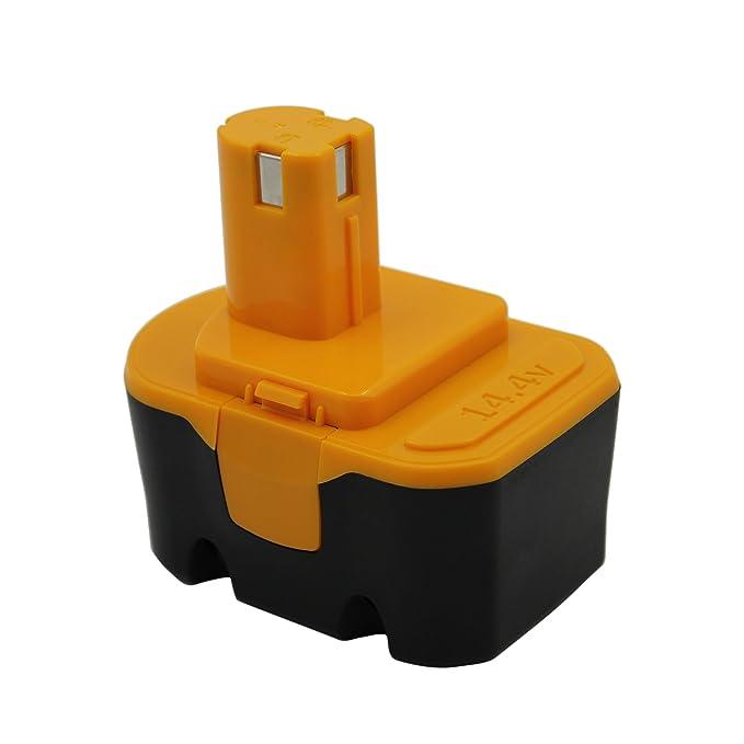 KINSUN Reemplazo Herramienta Eléctrica Batería 14.4V 2.0Ah Para Ryobi Taladro Inalambrico Destornillador 130224010 130224011 130281002 1314702 ...