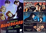 Sherlock Holmes Set + Bluebeard 1941 DVD Private Life, Hounds of Baskerville, Dressed to Kill & Terror by night