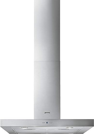 Smeg KAT700HXE De pared Acero inoxidable 750m³/h B - Campana (750 m³/h, B, A, D, 62 dB, 46 dB): 246.91: Amazon.es: Hogar