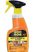 Goo Gone Original Spray Gel - Removes Chewing Gum, Grease, Tar, Stickers, Labels, Tape Residue, Oil, Blood, Lipstick, Mascara, Shoe polish, Crayon, etc. - 12 fl. oz.