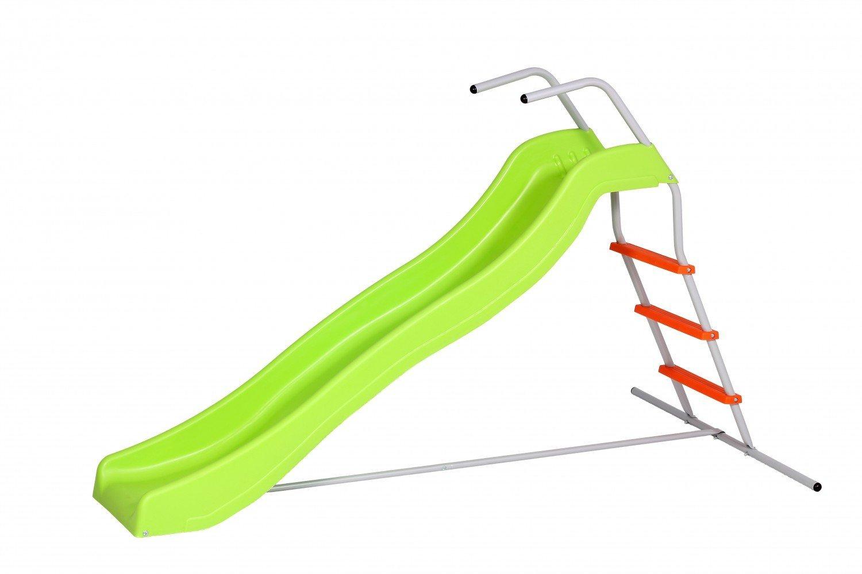 SportPlus Wellenrutsche, Rutschlänge ca. 177cm, Spielzeugsicherheitstest nach EN71, Modell 2017, SP-GAM-201