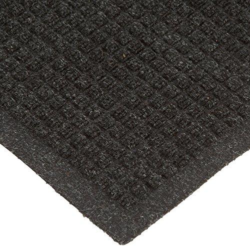 Drainable Mat (Andersen 250 WaterHog Drainable Polypropylene Entrance Outdoor Floor Mat, 10' Length x 3' Width, Charcoal)