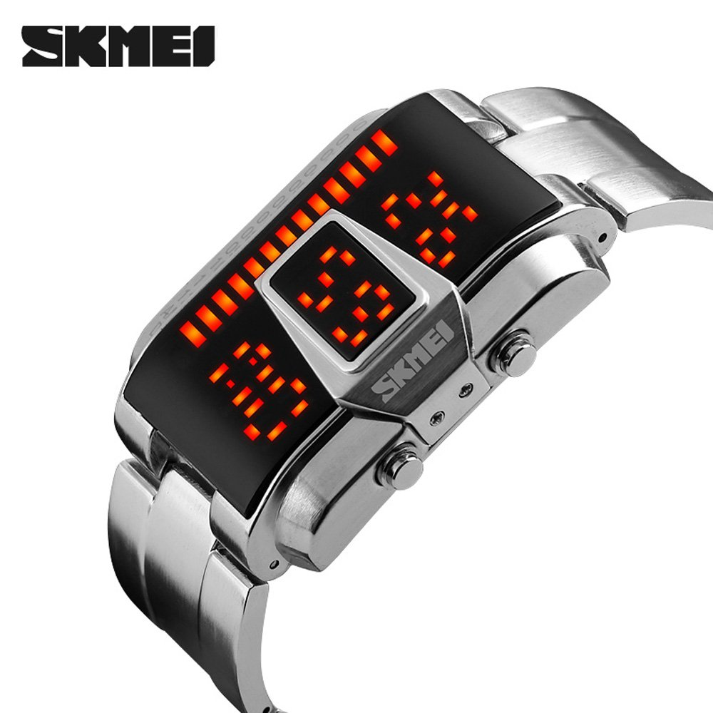 Amazon.com: SKMEI 1179 LED Display 50M Waterproof Electronic Watches, Leisure Sports for Men and Women Watch: Watches