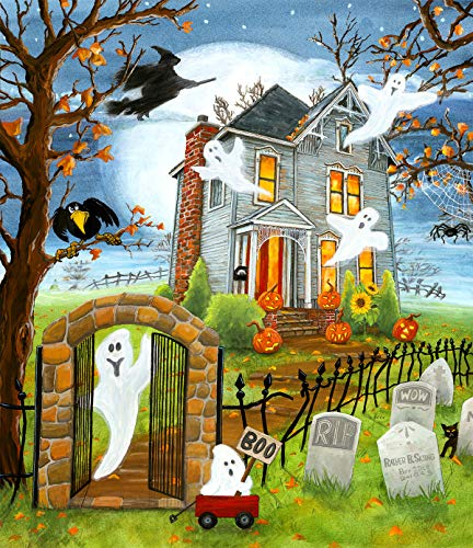 Haunted Haven 300 pc Halloween Jigsaw Puzzle by SunsOut -