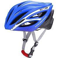 Eboxer Casco para Bicicleta con 21 Puerto de Ventilación, Ciclismo Ajustable Cascos de Bicicleta de Montaña y Carretera para Protección de Seguridad y Transpirable para Adultos, 55-61cm