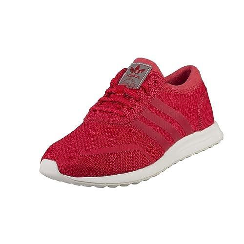 Adidas - Adidas Los Angeles Scarpe Donna Rosse - Rosso, 35.5