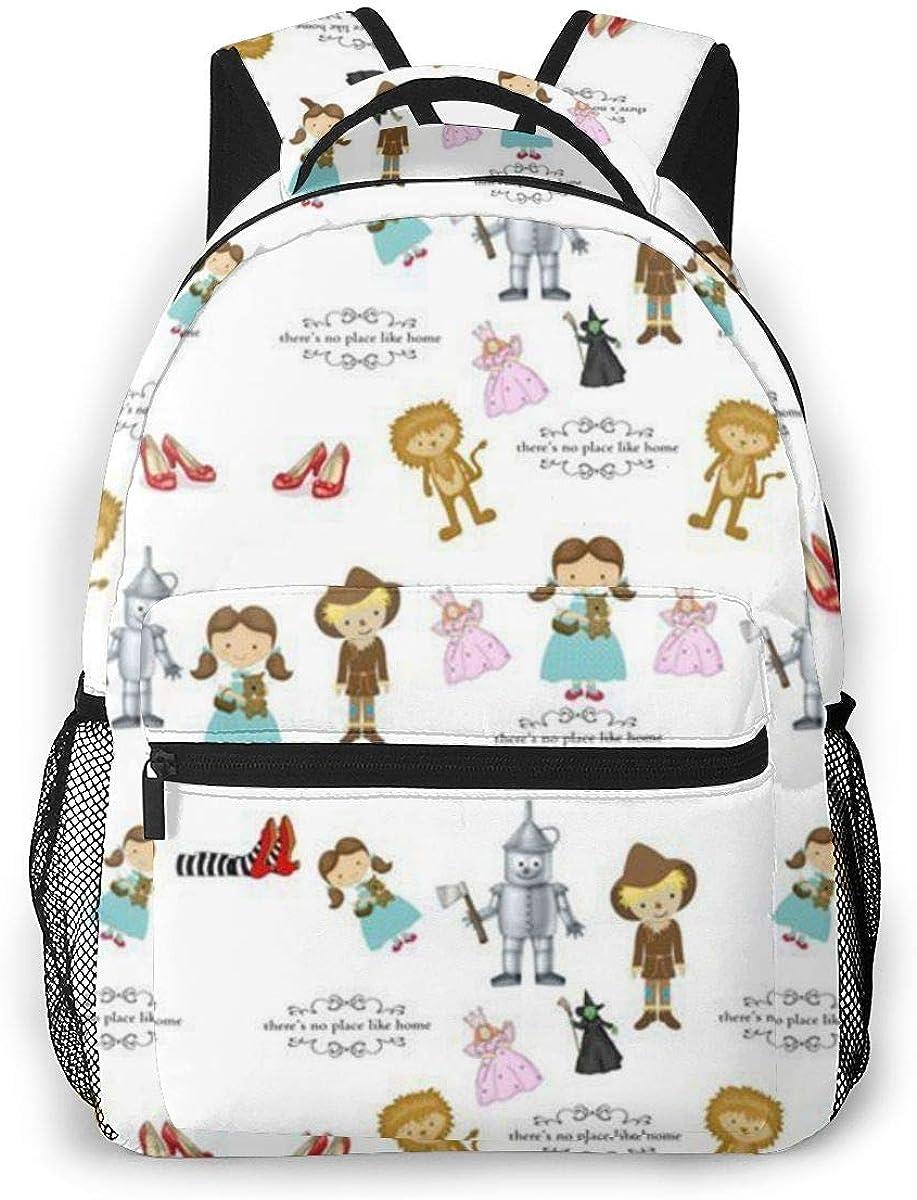 Popular Print Kids School Bag Wizard Of Oz Child Backpack Large