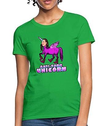 b6f63f2efec Amazon.com  Spreadshirt Miranda Sings Merch Anti-Porn Unicorn ...