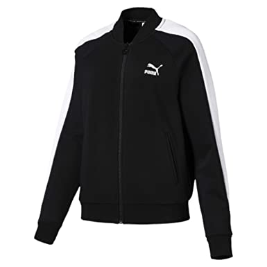 Puma Classics T7 Damen Trainingsjacke: : Bekleidung