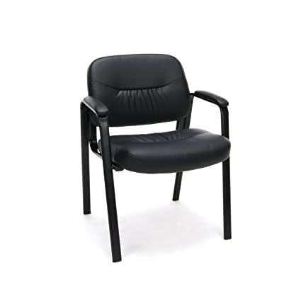 Super Amazon Com Ofm Essentials Leather Executive Side Chair Pdpeps Interior Chair Design Pdpepsorg
