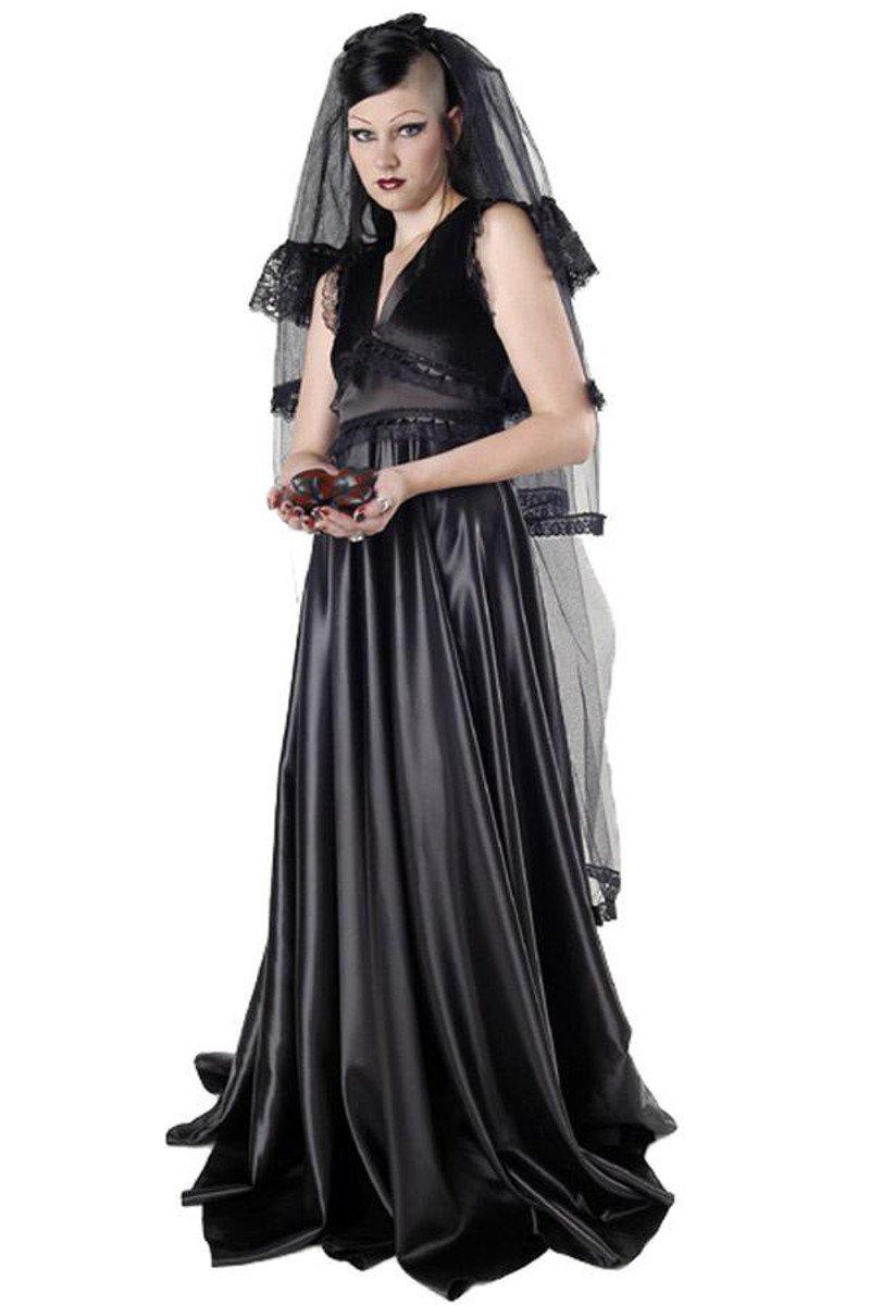 Dark Dreams Gothic Hochzeit Braut Schleier langer Schleier Sadness Tears
