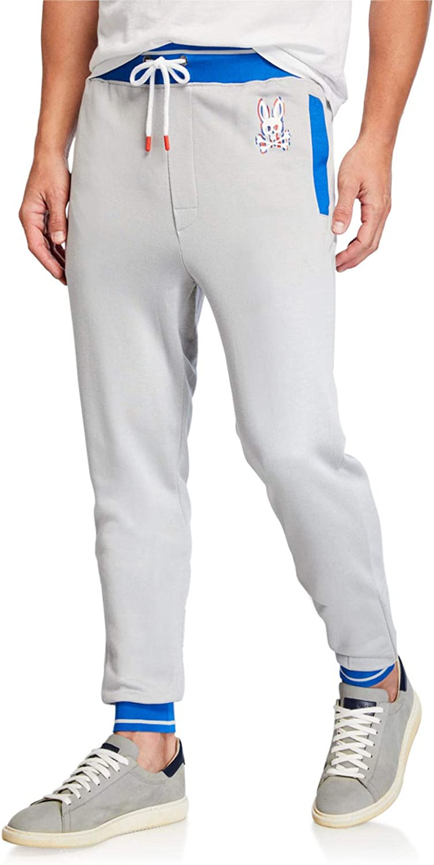 Psycho Bunny Men's Festival Colorblocked Jogger Pants